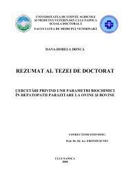 25 coperta[1]Dana Irinca pt rezumat - USAMV Cluj-Napoca