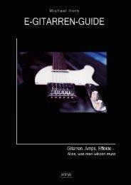 Teil I GITARREN - Audio-Mastering-Guide