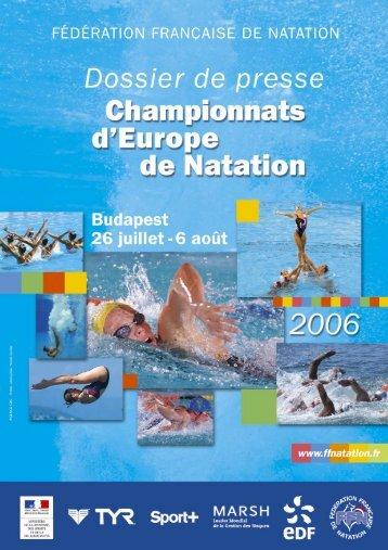 Dossier complet - Fédération Française de Natation