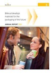 Annual Report 2010 - Billerud AB