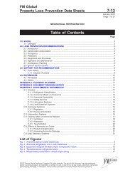DS 7-13 Mechanical Refrigeration (Data Sheet) - FM Global