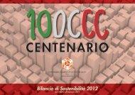 Bilancio di sostenibilità 2011 - Consorzio cooperative costruzioni