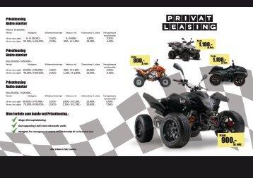 ATV Leasing fra kr. 850