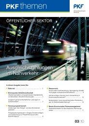 Heft 3 09/2010 Ausgleichszahlungen im ... - PKF Fasselt Schlage