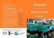 UITNODIGING Sport & diversiteit - Forum, Instituut voor ...