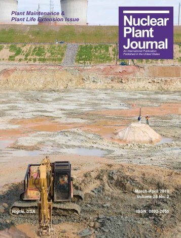 March-April 2010 - Digital Versions - Nuclear Plant Journal