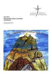 April 2 - Sankt-antonius-online.de