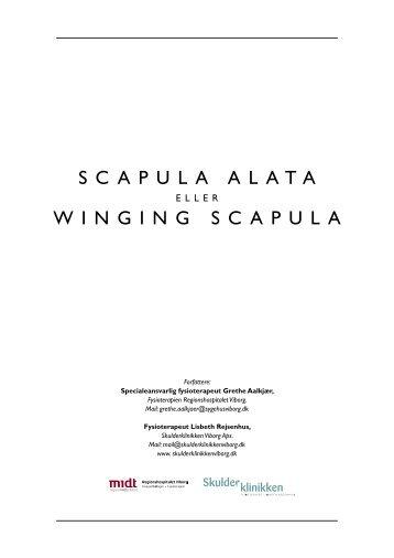 SCAPULA ALATA WINGING SCAPULA - Skulderklinikken Viborg ApS
