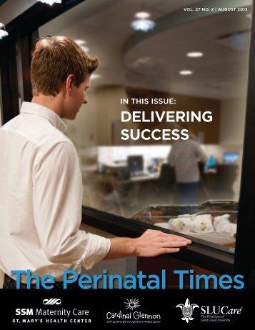 The Perinatal Times - SSM Cardinal Glennon Children's Medical ...