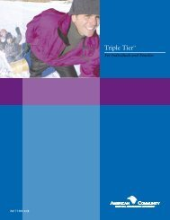 Triple Tier Brochure - Health Insurance Leads