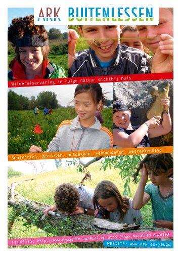 Buitenlessen Brochure - ARK Natuurontwikkeling