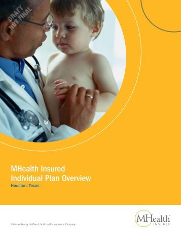 MHealth Insured Individual Plan Overview - Health Insurance Leads