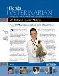 Florida Veterinarian, Summer 2009 (PDF) - University of Florida ...