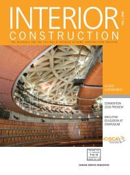 Ceilings & Interior Systems Construction Association