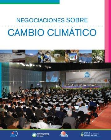 Negociación en Cambio Climático
