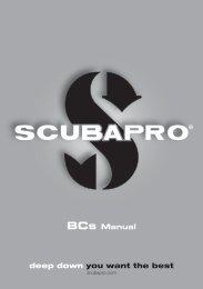 Bedienungsanleitung Tarierjackets - Scubapro