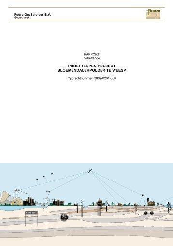 In een recent verschenen rapport - Geotechniek