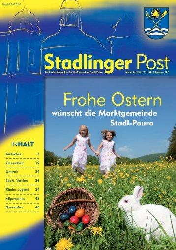 Frohe Ostern - Stadl-Paura