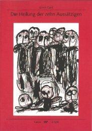 Die Heilung der zehn Aussätzigen - Carus-Verlag