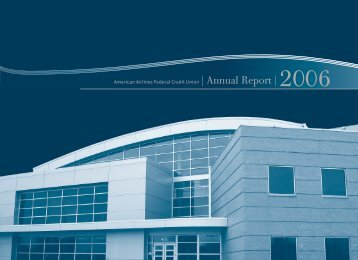 American Airlines Federal Credit Union | Annual Report | 2006