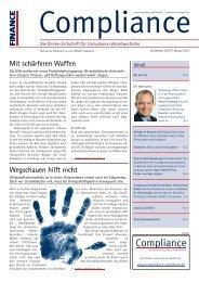 (PDF) | Ausgabe Dezember 2010 - Compliance