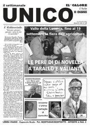 LE PERE DI DI NOVELLA A TARALLO E VALIANTE - Unico