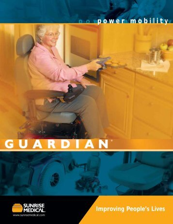 Guardian Power Mobility Brochure - LifeCare Medical