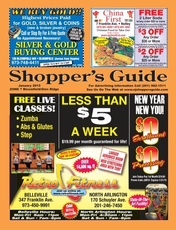 3 OFF - The Shopper's Guide