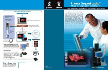 Brochure PDF - Pixera Corporation