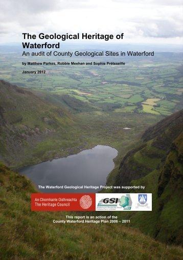 Report - Geological Survey of Ireland