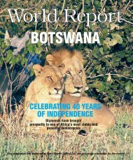 CELEBRATING 40 YEARS OF INDEPENDENCE - World Report