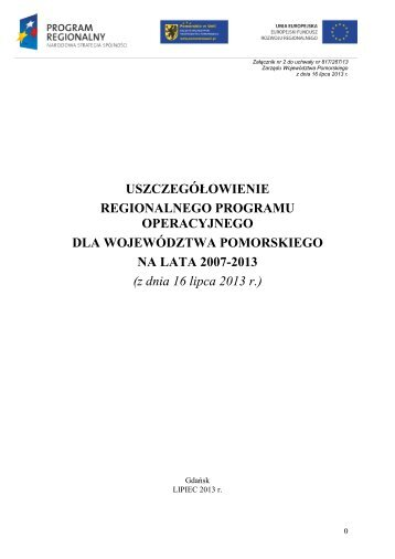 z dnia 16 lipca 2013 - Agencja Rozwoju Pomorza SA