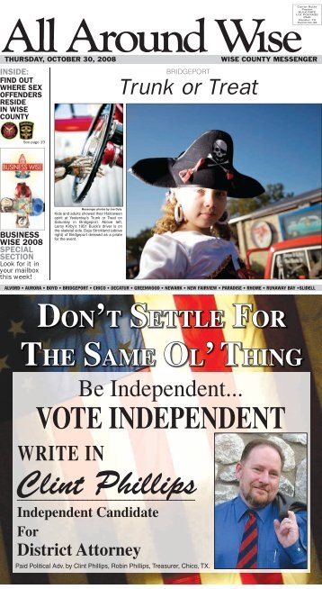 Be Independent... - Wise County Messenger