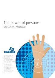 The power of pressure - EBVertriebs GmbH
