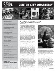 View March 2011 Center City Quarterly - Center City Residents ...