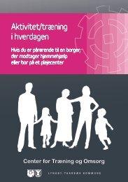 Aktivitet/træning i hverdagen - Lyngby Taarbæk Kommune