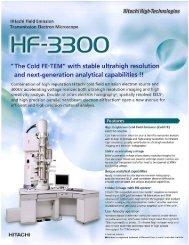 HF-3300 Flyer-0706.pdf - Hitachi High Technologies America, Inc