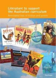 Literature to support the australian curriculum - ReadPlus