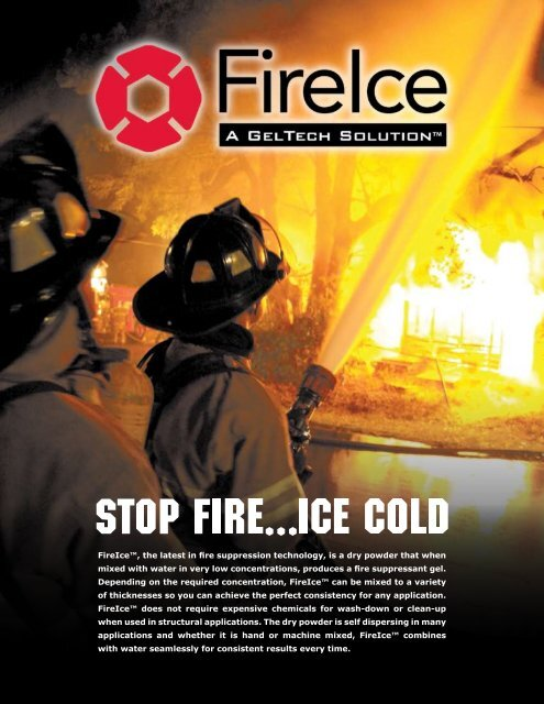 Fire Ice Fire Suppressant