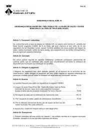 Ordfis43 - Lloguer de locals 2012 - Ajuntament de Montornès del ...