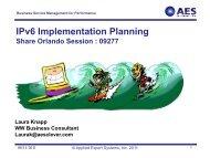 IPv6 Implementation Planning - Laura Jeanne Knapp