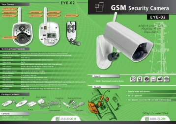 GSM Security Camera - Noby AS