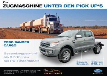 Ford Ranger Cargo - Fordautozentrum