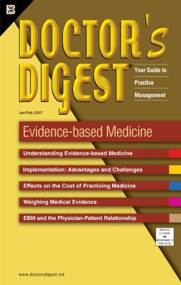 Jan/Feb 2007 EVIDENCE-BASED MEDICINE