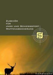 Zubehör für Jagd und Schießsport Waffenabsicherung - S. Franzen ...