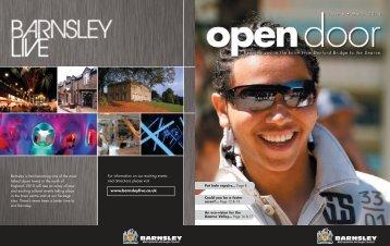 Open Door 6 - Barnsley Council Online