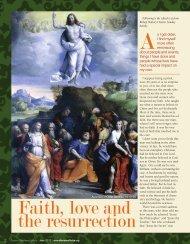 Faith, love and the resurrection - Diocese of Tulsa