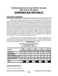 Dominican Republic - IIPA