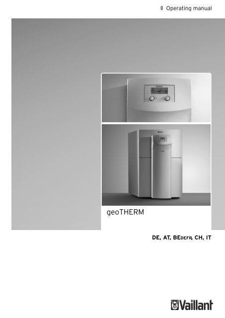 geoTHERM - Vaillant