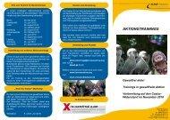 AKTIONSTRAININGS - Kurve Wustrow